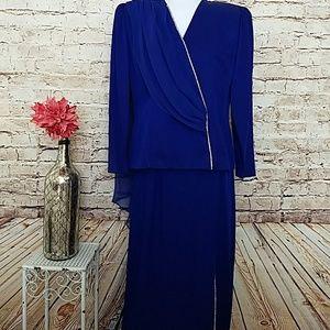 Dresses & Skirts - 2 Piece Vintage Formal Mother of the Bride Dress